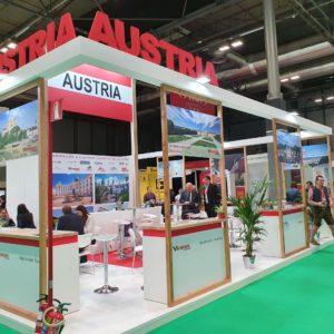 Stand MUNDIVISION - Austria - FITUR - Enero 2020