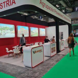 Stand MUNDIVISION - proveedores turísticos de Austria - FITUR - Mayo 2021